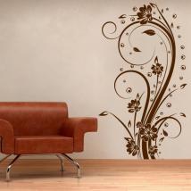 Fiori decorativi vinile verticale I