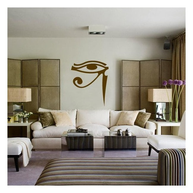 Occhio di vinile decorativo di Horus