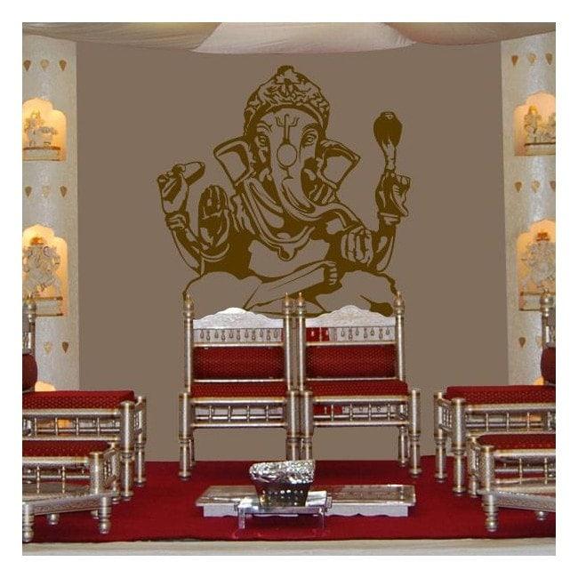 Vinile decorativo Ganesha