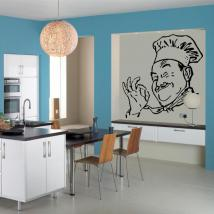 Vinile decorativo Chef
