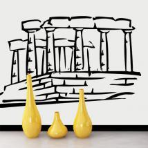 Vinile decorativo Partenone