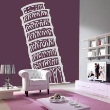 Vinile decorativo Torre di Pisa