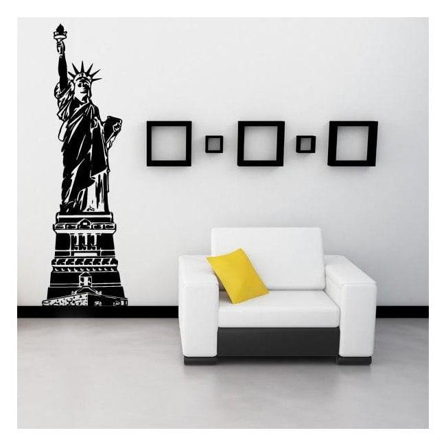 Statua decorativa del vinile della libertà