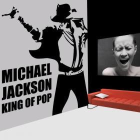 Vinile decorativo Michael Jackson