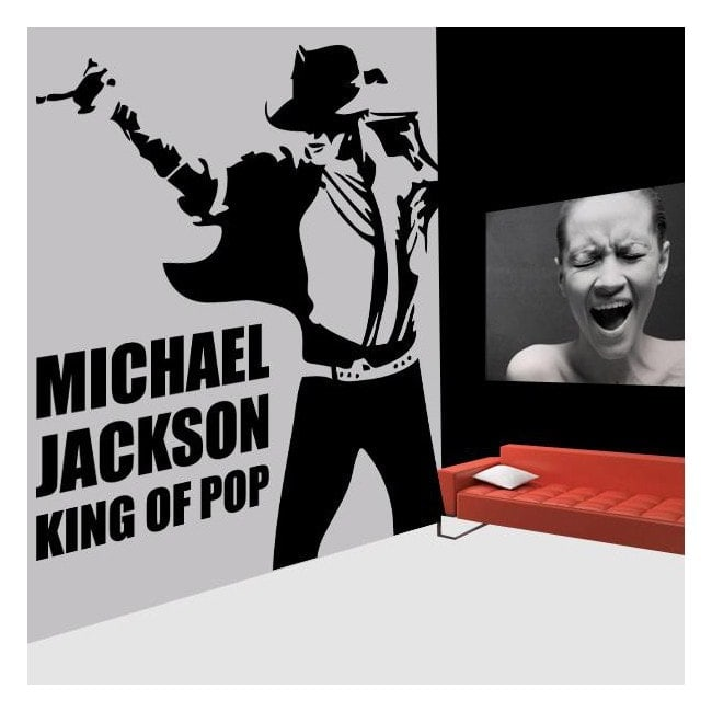 Vinile decorativo Michael Jackson