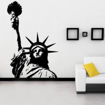 Statua decorativa del vinile della libertà mi