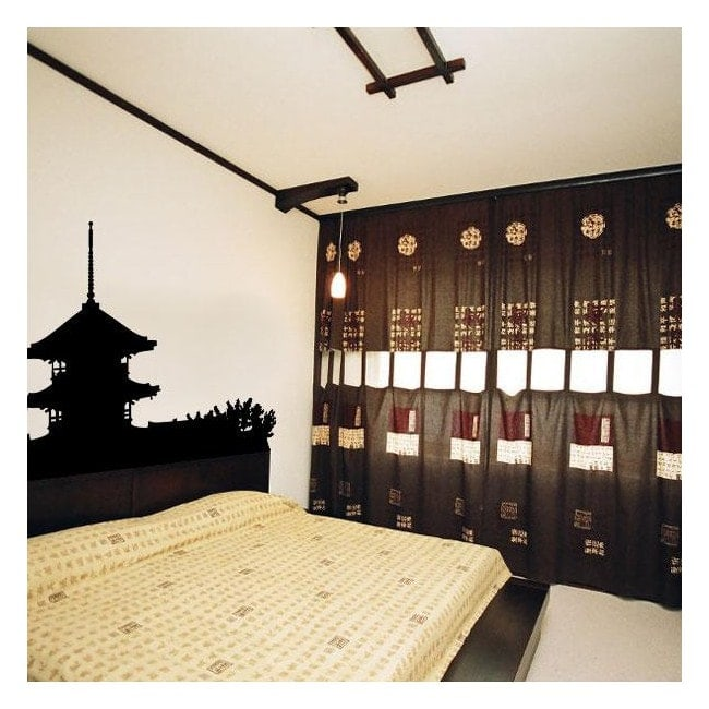 Vinile decorativo Pagoda giapponese