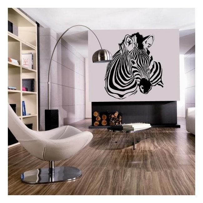 Vinile decorativo zebra