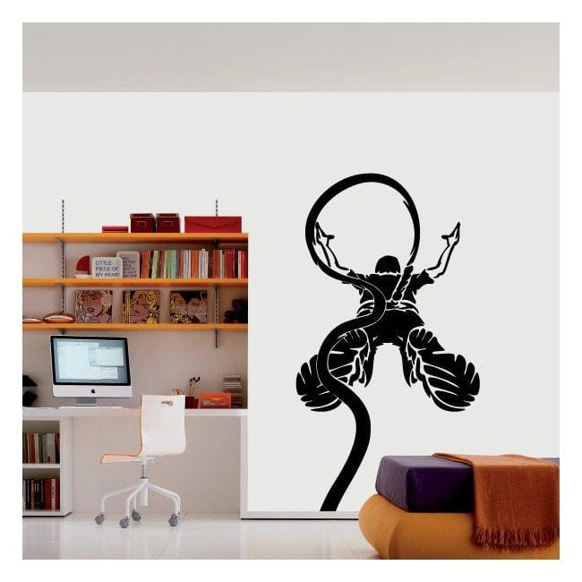 Vinile decorativo bungee jumping