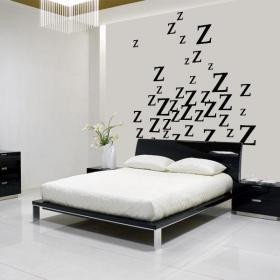 Vinile decorativo sonno è un piacere