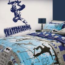 Vinile decorativo Skateboarding