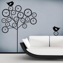 Adesivi murali albero del tempo