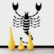 Oroscopo di vinile decorativo - Scorpio