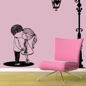 Momento romantico vinile decorativo