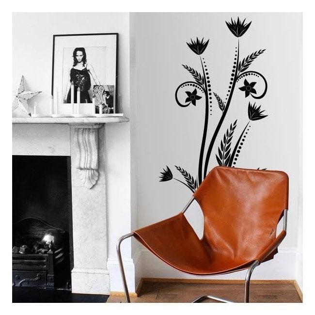 Decorare fiori verticali pareti