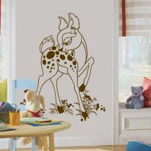 Vinile decorativo cerbiatto Bambi