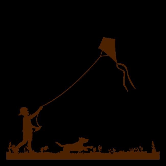 🥇 Decorare le pareti, il bambino e l'aquilone