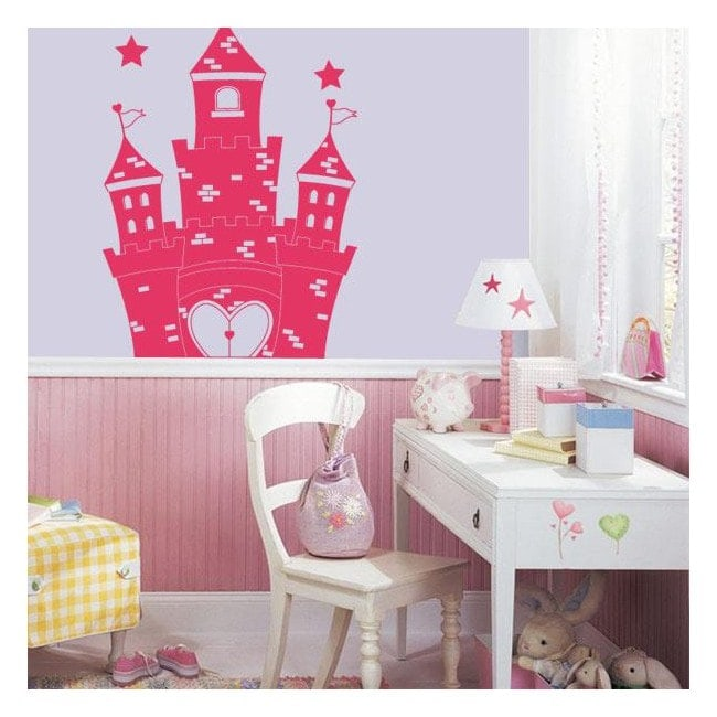 Decorare pareti principessa castello