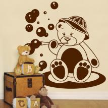 Decorare pareti orso bambino