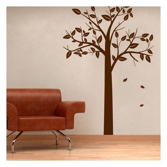 Decorare pareti albero autunnale