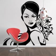 Donna sagoma di decorazione muro