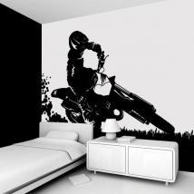 Decorare pareti Motocross