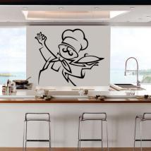 Decorare cucina pareti Chef