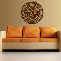 Occhio di parete decorazione di Horus