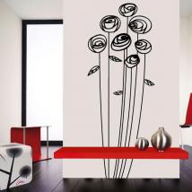 Wall decorazione floreale