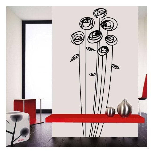 Wall decorazione floreale