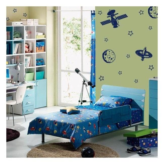 Spazio di parete decorazione Kit
