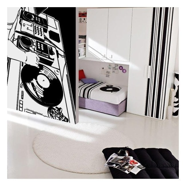 Vinile decorativo DJ Studio