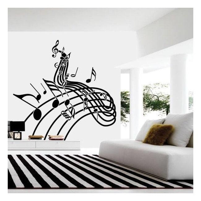 Personale di musica vinile decorativo