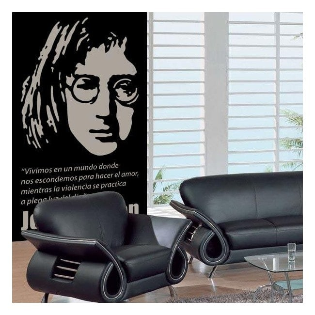 Vinile decorativo John Lennon