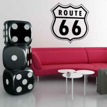 Vinile decorativo Route 66