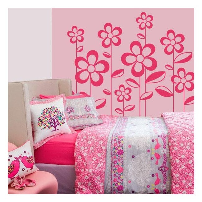 Primavera fiori wall decor