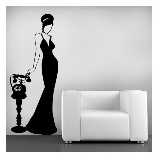 Donna di parete decorazione Vintage ho
