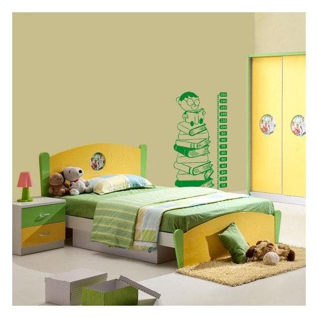 Bambini di decorazione pareti misuratore altezza