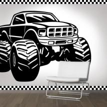 Decorazione pareti Monster Truck