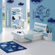 Velivolo di bambino decorazione pareti