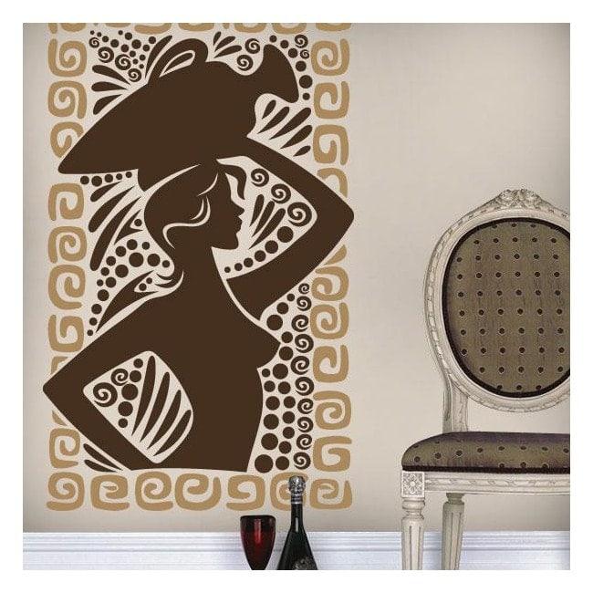 Vinile decorativo arte greca
