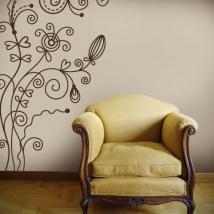 Fiori decorativi vinile Vintage