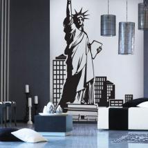 Vinile decorativo di New York
