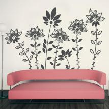 Fiori design vinile decorativo