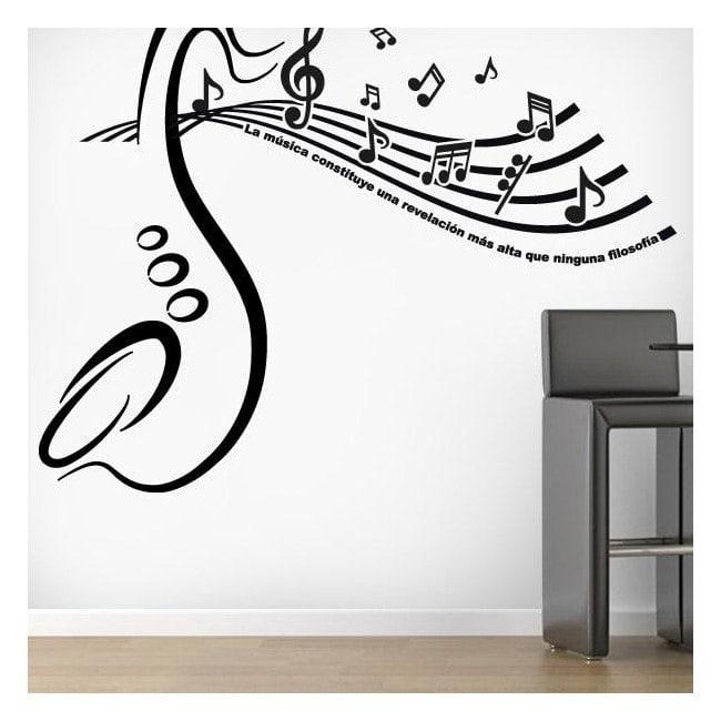 Rivelazione musicale vinili decorativi