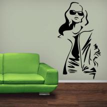 Autoadesivo della parete moda