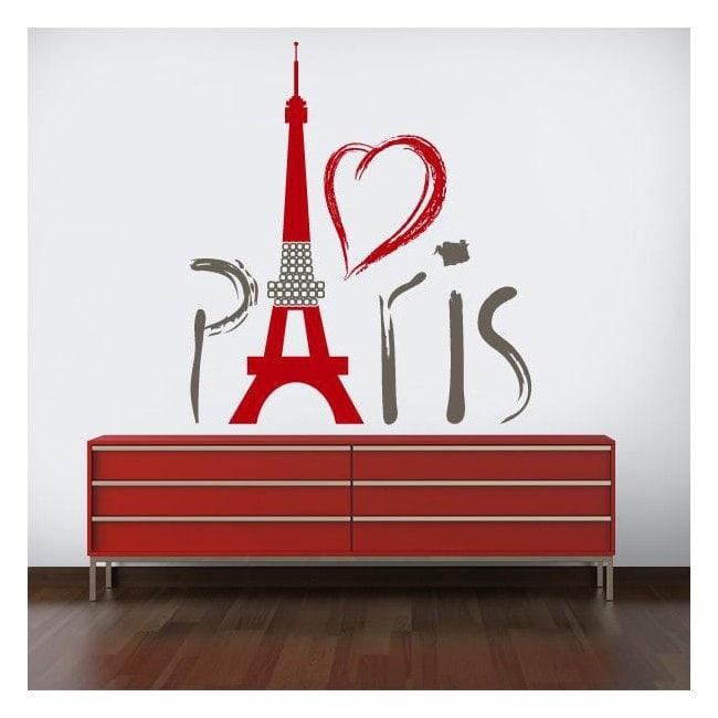Vinile decorativo Torre Eiffel Parigi