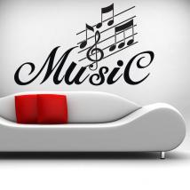 Dettaglio musica vinile decorativo