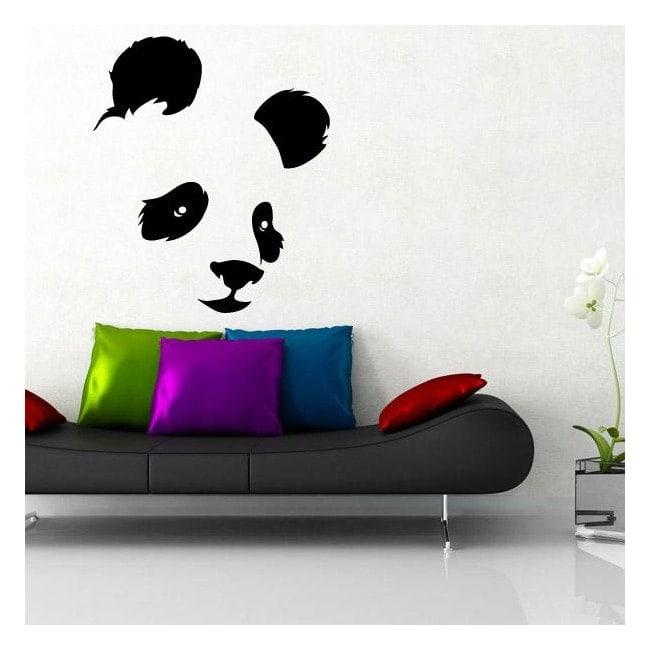 Orso vinile decorativo Panda