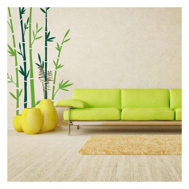Bambù pareti vinile decorativo